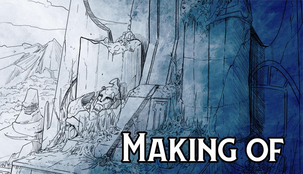 Making-of : Speed drawing du Palais de l'Incarnat par Jean-Mathias Xavier