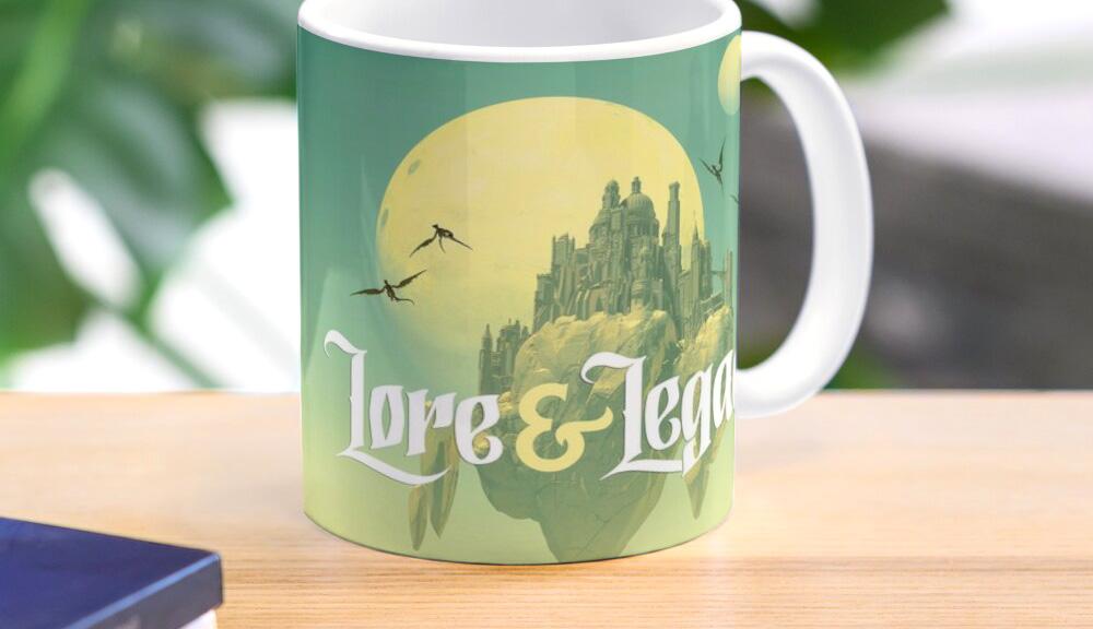 Produits dérivés Lore & Legacy sur RedBubble