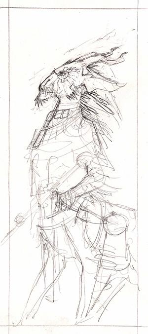Making-of : Les illustrations de Pierre Le Pivain étape par étape