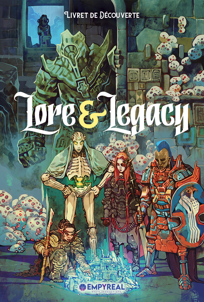 Couverture du Livret de Découverte de Lore & Legacy par Jakub Rebelka