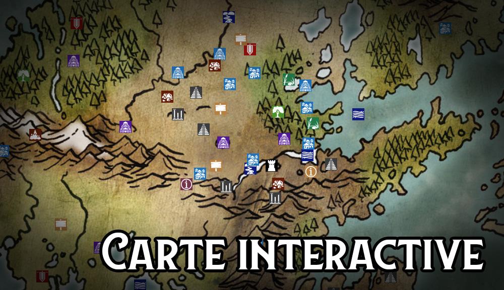 Lore & Legacy : Carte interactive d'Empyréa