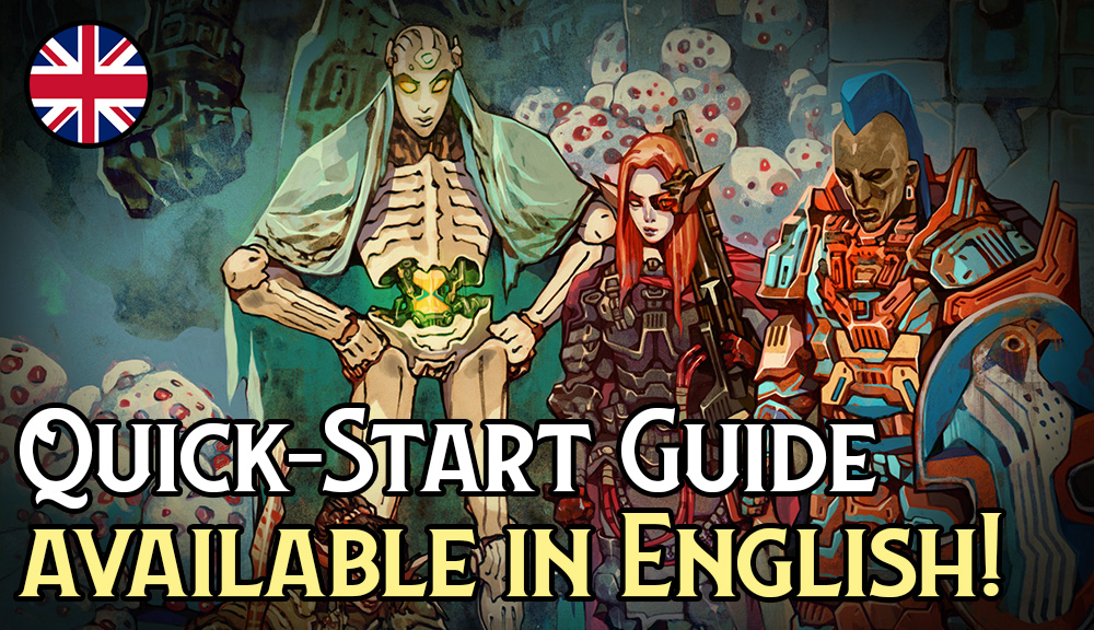 Lore & Legacy: Quick-Start Guide available in English