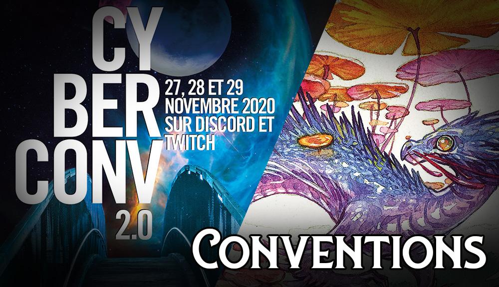 Conventions et événements - Hiver 2020