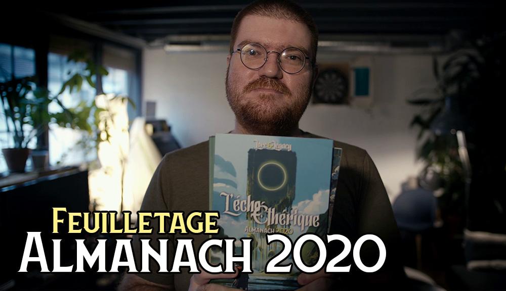 Vidéo : Feuilletage du l'Almanach 2020 de l'Écho Éthérique