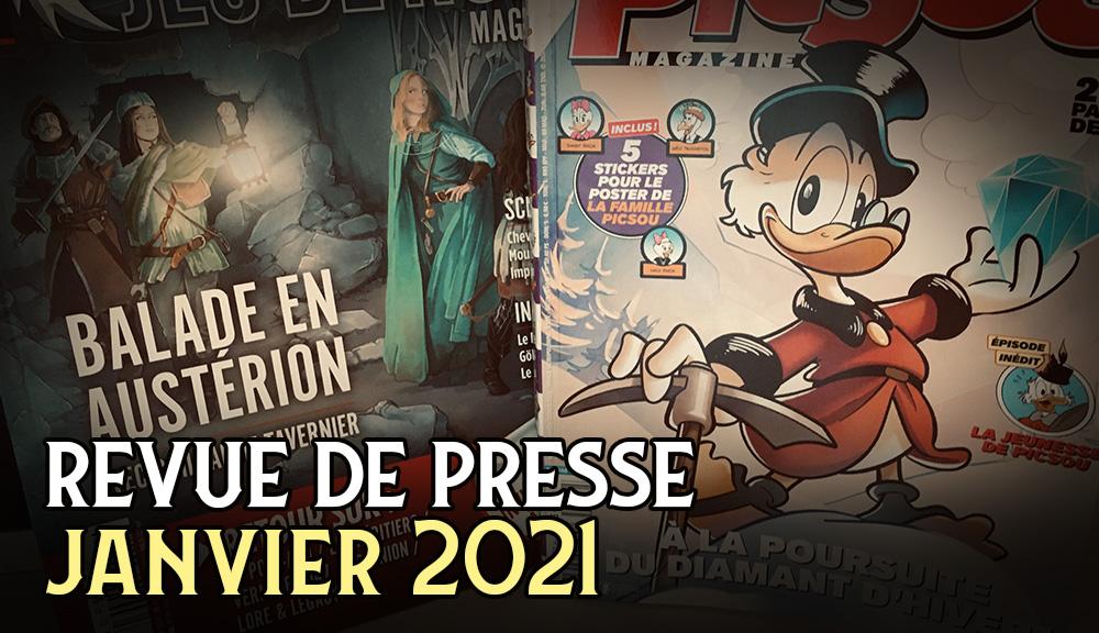 Lore & Legacy : Revue de presse Janvier 2021