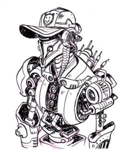 Illustration réalisée par l'artiste Fred Charve