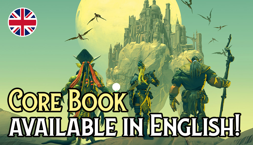 Lore & Legacy: Core Book available in English