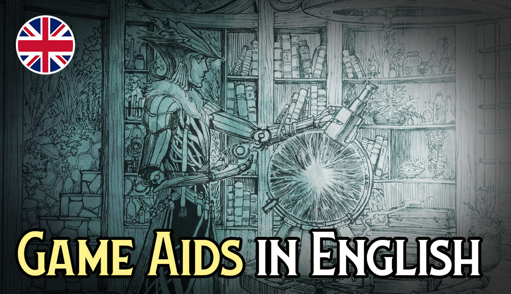 Lore & Legacy: Game Aids in English